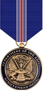 Army Achievement for Civilian Service Medal