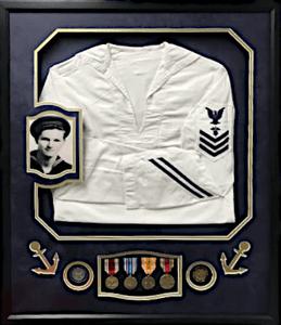United States Navy Uniform with Photo