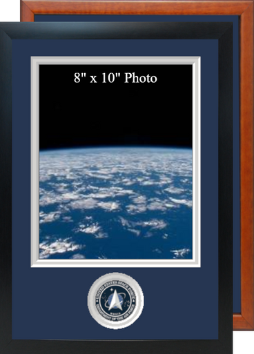 """11"""" x 16"""" Space Force Photo Frame w/ Bottom Seal"""