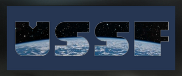 """8"""" x 20"""" United States Space Force Photo Font Picture Frame"""
