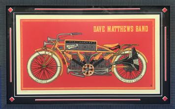 Framed Art- Dave Matthews Band Poster