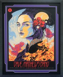 Framed Art - Dave Matthews Band Music Poster