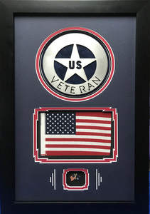 United States Veteran Art Frame