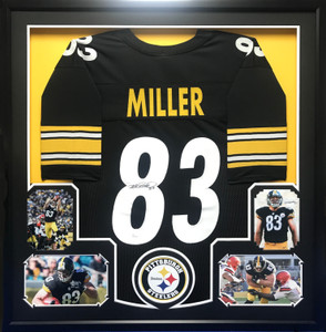 Steelers Jersey Frame with Photos