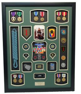Infantry Shadow Box Display