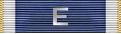 Navy E For Efficiency Ribbon