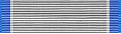 Silver Lifesaving Ribbon