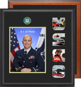 "15"" x 16"" Coast Guard Photo Font Frame"