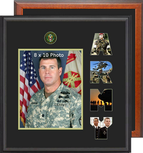 "15"" x 16"" Army Photo Font Frame"
