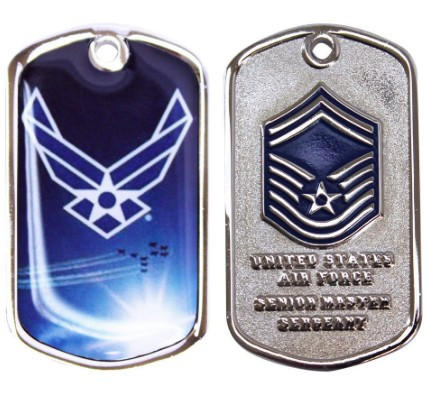 Air Force Challenge Coin Senior Master Sergeant