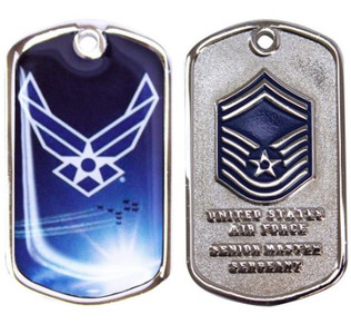 Air Force Coin Senior Master Sergeant
