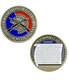 Air Force Coin Base Honor Guard