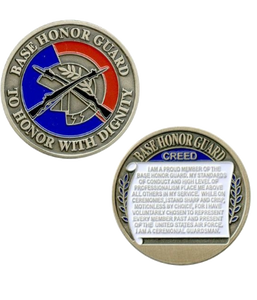 Air Force Coin Base Honor Guard
