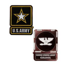 Army Challenge Coin Colonel