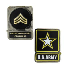 Army Challenge Coin Corporal