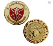 Marine Corps Coin 1st Battalion 5th Marines
