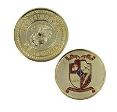 Marine Corps Challenge Coin 5th Battalion 11th Marines