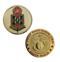 Marine Corps Challenge Coin 5th Marines
