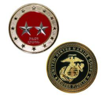 Marine Corps Challenge Coin Major General