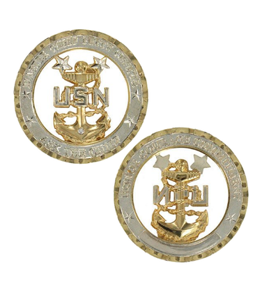 Marine Corps Challenge Coin Chief Petty Officer Master-CPO E9