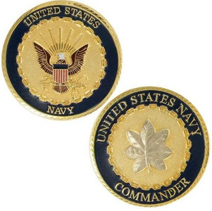 Navy Challenge Coin Commander