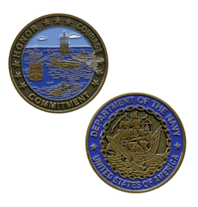 Navy Challenge Coin Department of the Navy