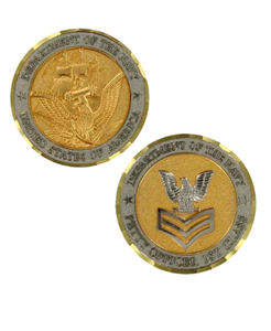 Navy Challenge Coin E6 Petty Officer First Class