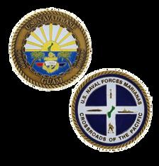 Navy Challenge Coin Naval Base Guam