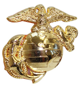 Pet Insignia Rank Charm - Large Enlisted Eagle, Globe and Anchor