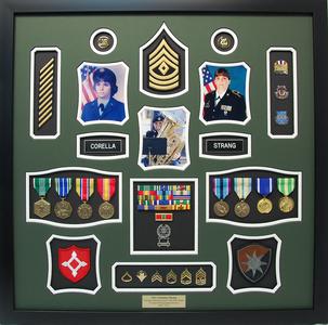 Florida National Guard Shadow Box Display