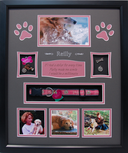 "16"" x 20"" Pet Memorial Shadow Box #16"