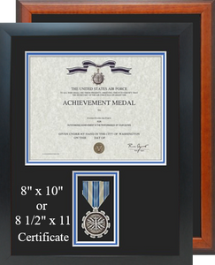 Air Force Achievement Certificate Frame