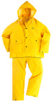 Onguard Three-Piece Rainsuit, 46in - 48in Chest, Elastic Waste Pants