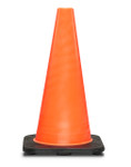 Traffic Cone, No Reflectors, 18in