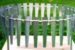 Wind Screen for Tipping Bucket, 36 in, SST