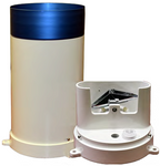 Tipping Bucket Rain Gage Extended, 0.01mm w/Siphon