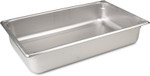 "Stainless Steel Pan, 20-3/4"" x 12-3/4"" 4""D"