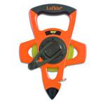 """Lufkin® 1/2"""" Atlas Ny-Clad Tape, in feet/10ths/100ths, 100'"""