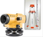 Topcon® AT-B3A/PS Automatic Level Kit