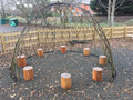 3.0M Long Large Willow Arbour Kit