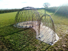 Large 3m Dome with 3m length of Tunnel Kit