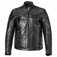 triumph motorcycles taloc men's leather motorcycle riding jacket