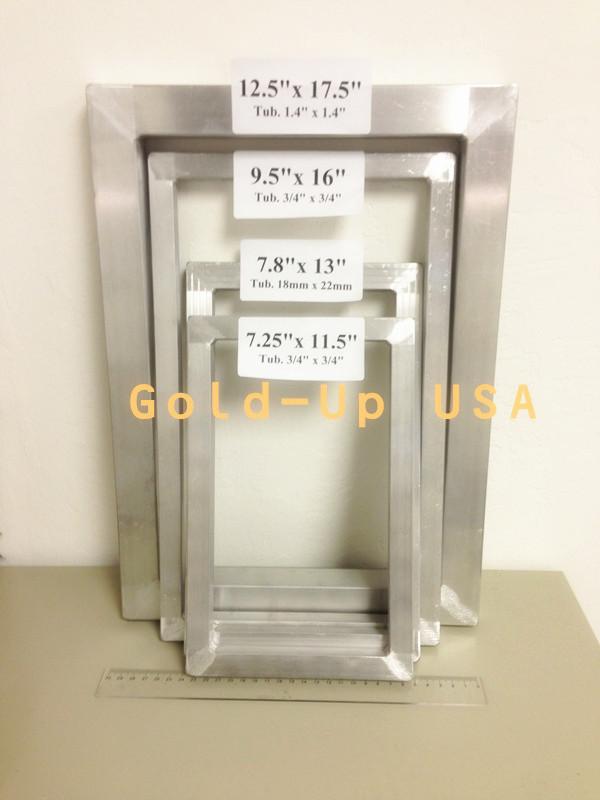 Bare Frames 125x175 Gold Up Usa