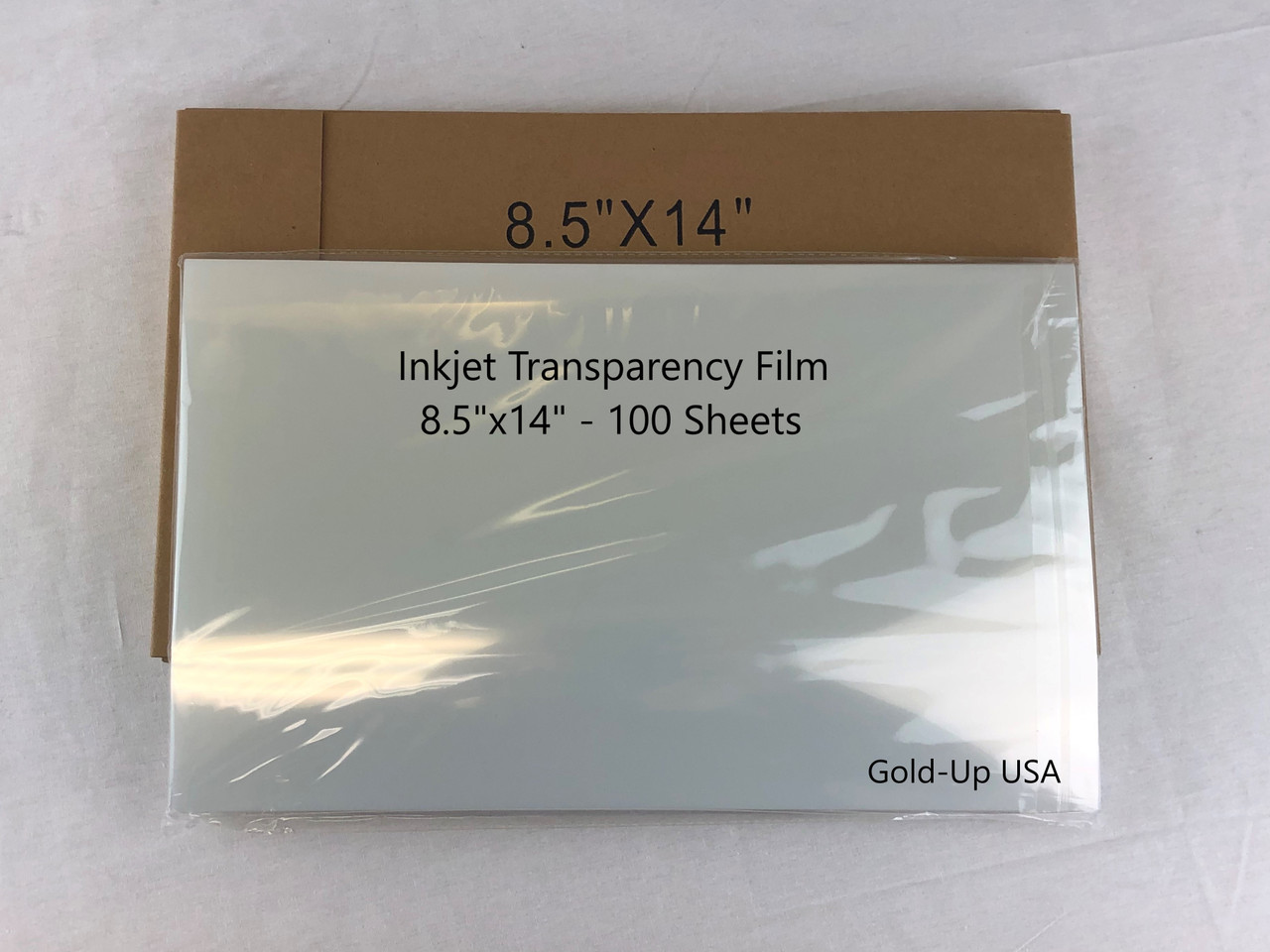 "Screen Printing Inkjet Film Transparency 8.5/"" x 14/"" 1 pack 100 sheets 5 MIL"