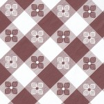 Tavern Checks Fitted Vinyl Tablecloths Round Table Cloths