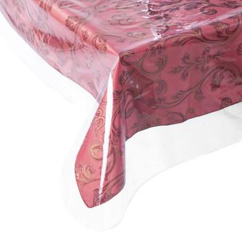 Clear Vinyl Table Protector