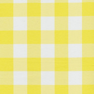 Yellow Checkered Cloth Tablecloth