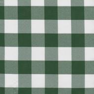 Green Checkered Cloth Tablecloth
