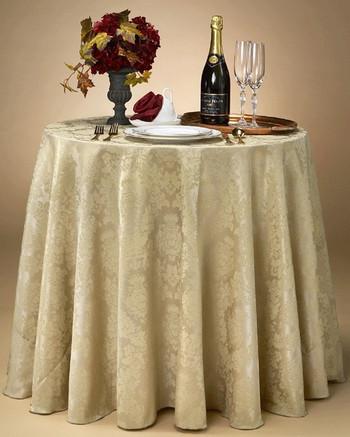 Kensington Round Tablecloths for Wedding