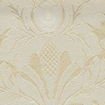 Champagne Kensington Rectangle Damask Wedding Tablecloth